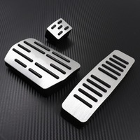 TTCR II Car Accessory Gas Accelerator Footrest Modified Ped For Audi Q7 2006 2016 AT Decoration Refit Styling Cover Sticker