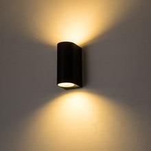 ZMJUJA חיצוני 2W 4W 6W 8W 10 3WLED קיר מנורות AC100V/220V אלומיניום מקורה לקשט פמוט קיר חדר שינה LED קיר אור