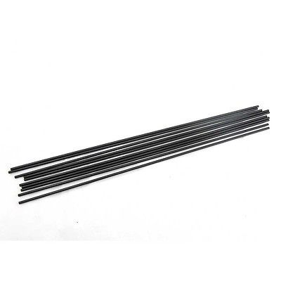 3mm Diameter Length 330mm Fiber Glass Rods for RC Plane Helicopter DIY Tool Wing Tube Quadcopter Fiberglass 10pcs/lot New