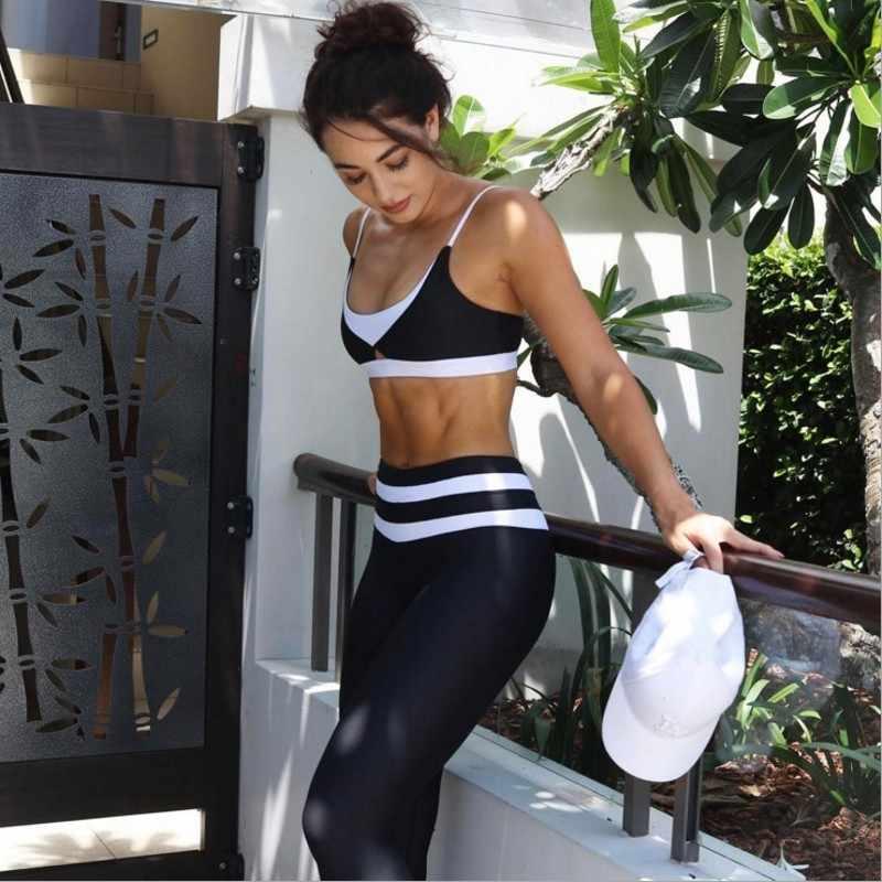 Imprimir Leggings Esportivos Para As Mulheres Roupas de Cintura Alta Calças de Treino de Fitness Activewear Feminino Leggings Jeggings Quick Dry 3042