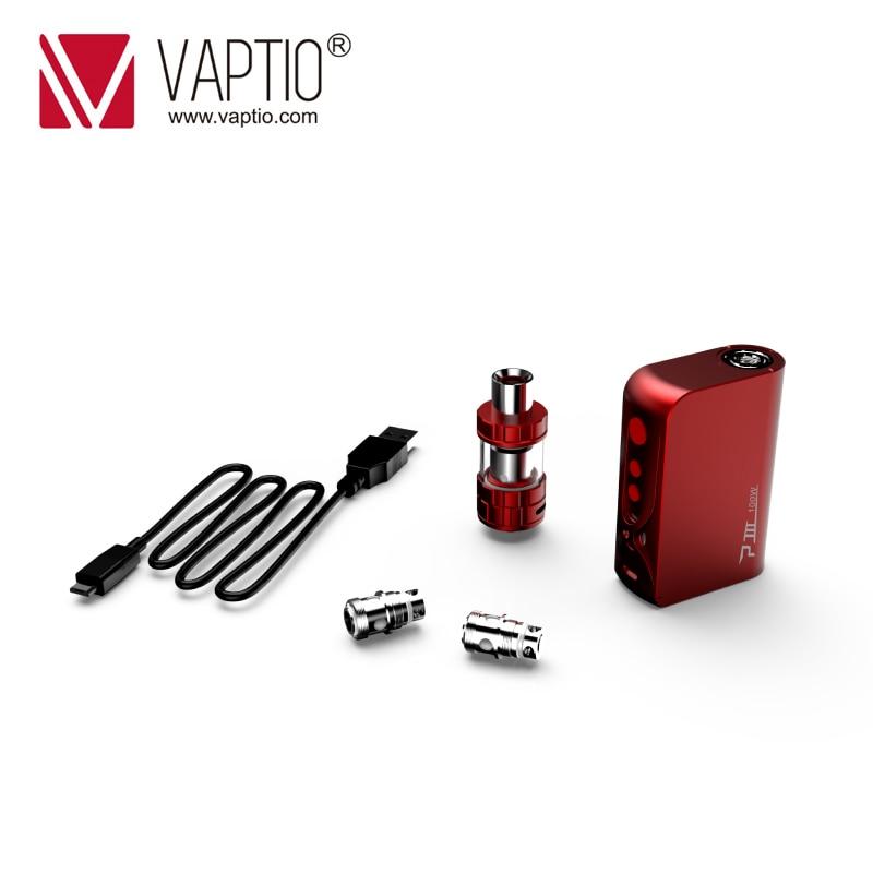3000mAh Vape Mod Original Vaptio P3 GEAR KIT with 100W Built-in battery 510 Thread mod & Capacity 2.0ml TANK