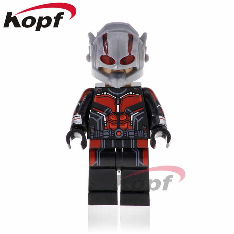 Única Venda Super Heróis Bruce Banner Infinito Guerra Figuras Feiticeira Escarlate Antman Nebulosa Building Blocks Brinquedos para crianças XH 865