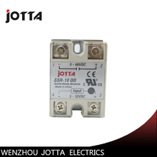 SSR -10DD DC control DC SSR white shell Single phase Solid state relay 10A input 3-32V DC output 5~60V DC