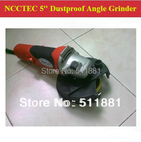 5'' Dustproof Floor Angle Grinder Polisher FREE shipping | 125mm hand held grinding polishing machine with dust shroud cover  цены