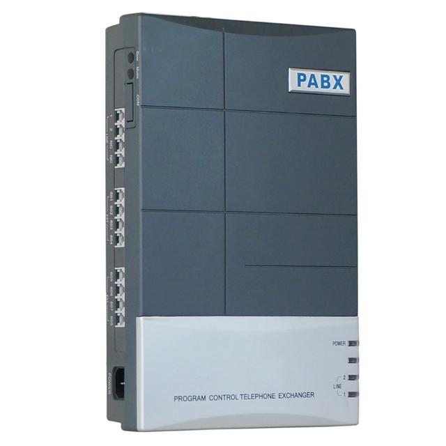 Sistema telefónico/Mini PABX/oficina y hogar PABX/CS 208/2 línea PSTN 8 extensión
