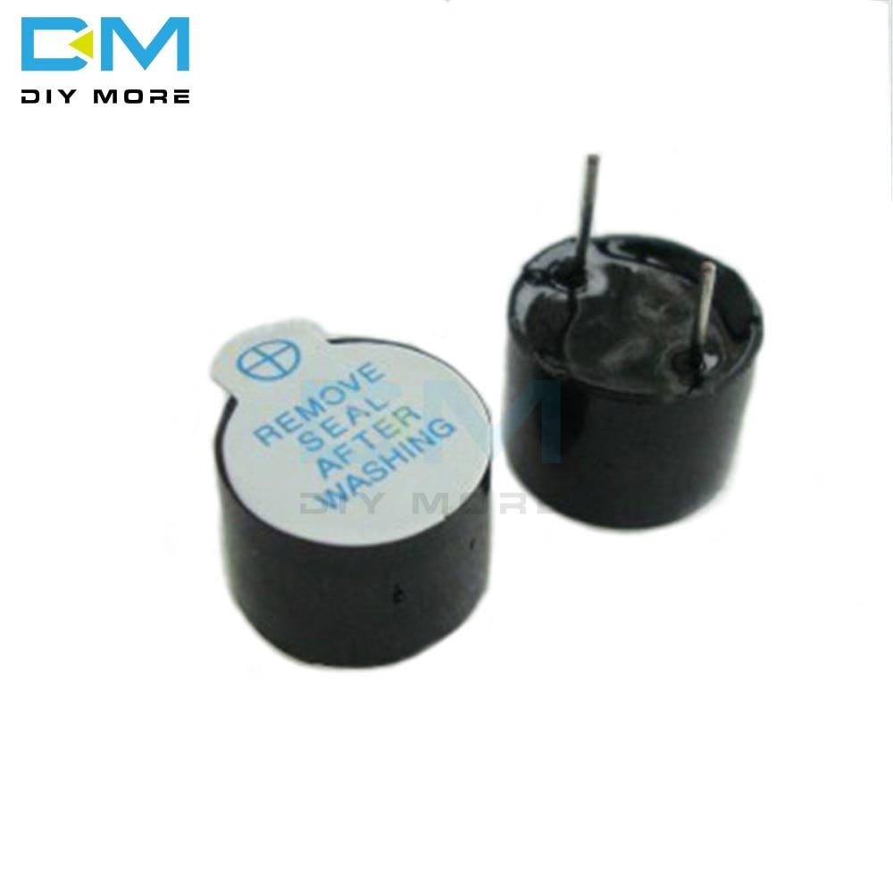 Mini Active Buzzer PCB 6-24V DC Piezoelectric Long Alarm Continuous Round