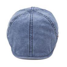 Voboom темно-синяя хлопковая кепка на плоской подошве для мужчин и женщин кепка газетчика 6 панель шляпа в стиле Гэтсби для мальчика шляпы такби драйвер Boina 157