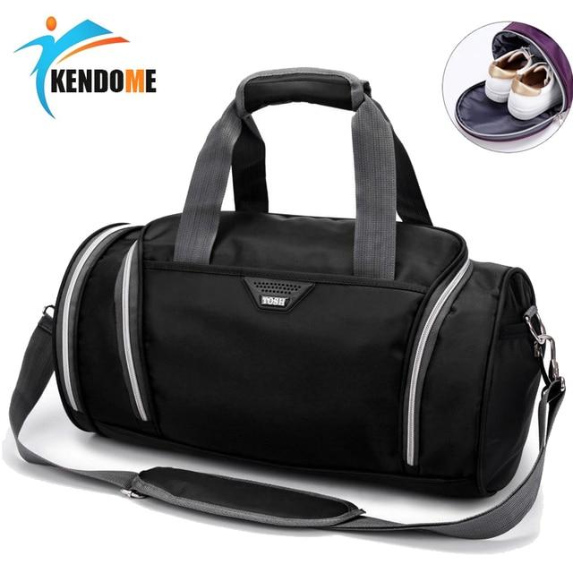 9cd20f63b699 Hot New Top Quality Shoulder Fitness Gym Bags Women Men Travel Sports Bag  Waterproof Yoga Multifunctional