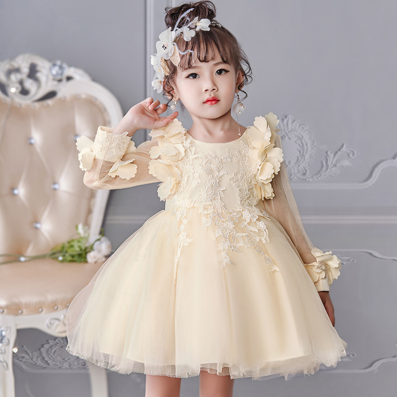 High quality 2017 New Style Girls Dress Summer Baby Girl For Wedding Birthday Party Dress kids girls 2 3 4 5 6 7 8 yrs clothes платье для девочек unbrand baby v 2 6 kids dress