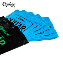 6pcs/set Orphee Electric Guitar String Single String Package Musical Instruments Guitar Accessories Single-String Series