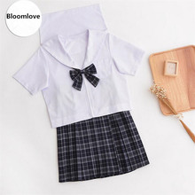 Spring Summer Autumn College School Girl Uniforms Lolita Student Sailor Suit Cosplay Cotsume School Uniform For Girl OY-GZ02
