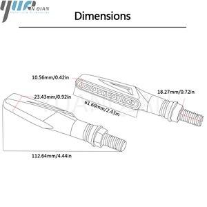 Image 5 - for honda CBR900RR CBR1000RR CBR954RR CB600F HORNET 250 600 900 Universal 12V LED Motorcycle Turn Signal Indicators Lights/Lamp
