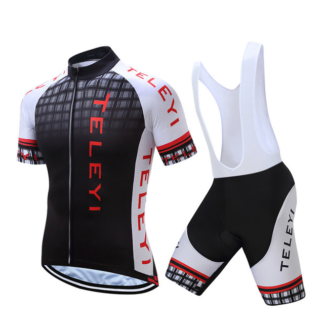 Teleyi Summer 2018 Men s Cycling Jersey Mountain Bike Jersey Ropa Ciclismo  Quick Dry Cycling Clothing Breathable Bicycle Clothes 0348dab93