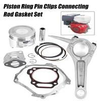 13HP Clipes de Pino Anel de Pistão Conjunto de Vedação Da Haste De Conexão Apto Para HOND UMA GX390 Motor