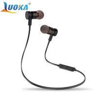 Bluetooth Headphones LUOKA M9 Wireless In Ear Noise Reduction Earphone With Microphone Sweatproof Stereo Bluetooth Headset