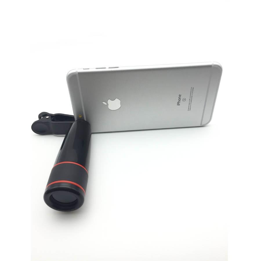16 New 10in1 Phone Camera Lens Kit 8x Telephoto Lens + Wide Angle + Macro Lens +Fish Eye +Selfie Stick Monopod + Mini Tripod 9