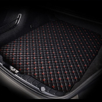 Custom Car trunk mats for Ford ecosport transit fusion mondeo 5 Focus 2 Carr accessories Cargo Liner Boot Carpet