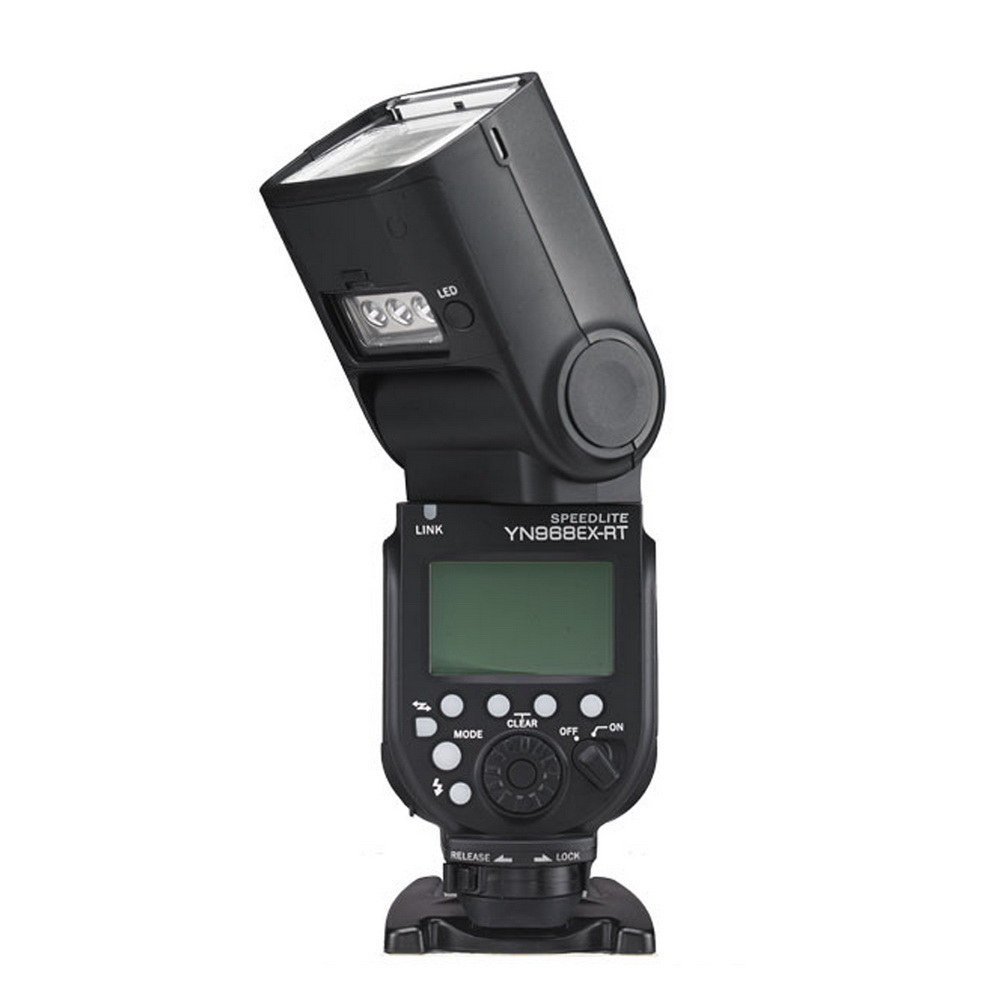 YONGNUO yn968ex rt yn968n Speedlite 2.4 ГГц HSS синхронизации ETTL ittl группы Управление мастер вспышки для Canon Nikon DSLR со светодиодной свет