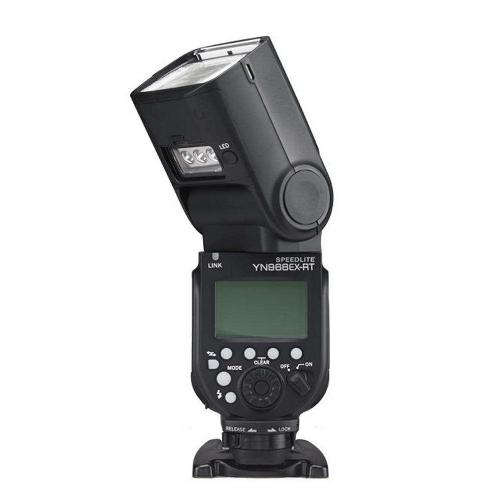 Yongnuo YN968EX-RT YN968N Speedlite 2.4GHz HSS SYNC ETTL iTTL Group Control Master Flash for Canon Nikon DSLR with LED Light