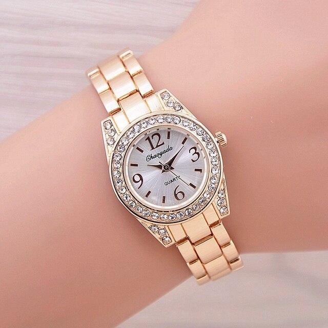 2017 New Fashion Women Watch Bracelet Watch Casual Women Wristwatch Luxury Brand