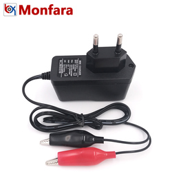 12V 1A Automotive Motorcycle Battery Charger Car Motor Lead-Acid AGM GEL Auto Cellular 12 V Power Charge Supply Adapter 220 Volt