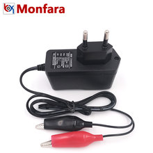 12V 1A Automotive Motorcycle Battery Charger Car Motor Lead-Acid AGM GEL Auto Sprayer Power Charge Supply Adapter 1000MA EU US(China)