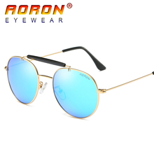 2017 AORON Brand Original Men Polarized Sunglasses Driving Mirror Colorful Lens Glasses oculos de sol Eyewear Accessories 3540