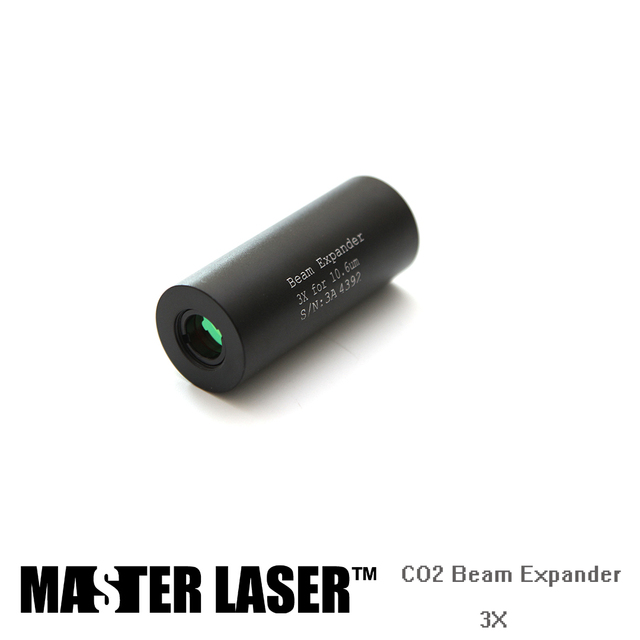 3X Straight  without Screw Cheap Laser Engraving Machine Beam Expander