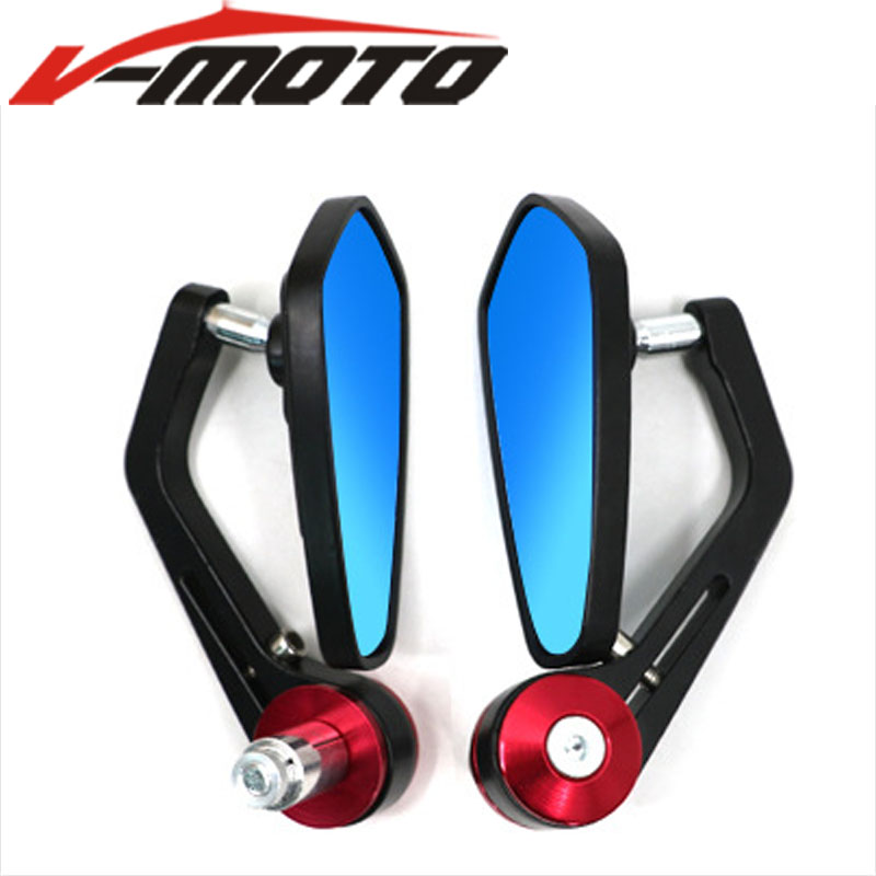 Universal Motorcycle Mirrors Bar End Mirror For DUCATI 400 620 695 696 796 MONSTER MONSTER S2R 800 1198/S/R 749/S/R 848 /EVO