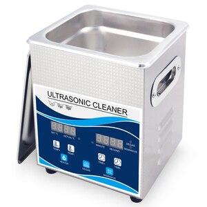 Image 2 - Ultrasonic Cleaner 2L 120W Digital Degas 110V/220V 40khz Remove Oil Rust Nozzle Hardware Optical Lens Dental Tools Heating Wash