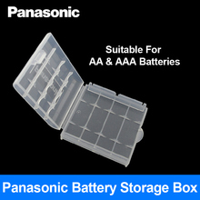 Panasonic Battery Storage Box For AA AAA Batteries 1 PCS Protect the Battery Prevent the Loss of Battery
