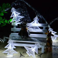 Portable Battery Operated Christmas Tree Led Light String 4M 40 Leds Christmas Light Christmas Ornamant Outdoor
