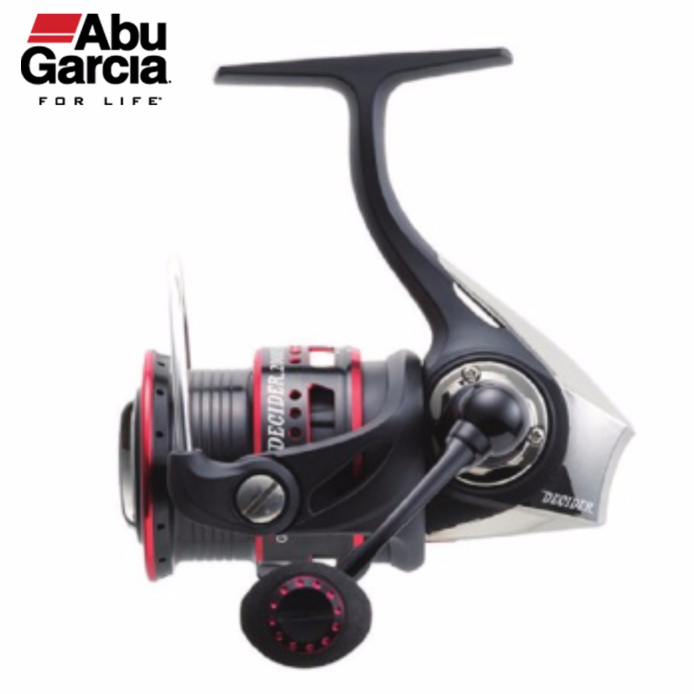 Abu Garcia 100% Original DECIDER Spinning Fishing Reel 2000SH Front-Drag Fishing Reel 8+1BB 5.8:1 Gear Ratio abu garcia revo deez 9 1bb 6 2 1 1000 spinning reel jb top50 professional angler special design freshwater fishing reel tackle