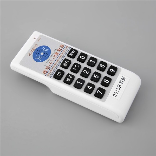 Free shipping double frequency 125KHz EM4100 and 13 56mhz MF 1K 4K RFID Handheld ID Card