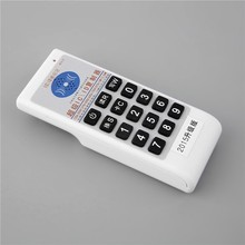 Free shipping double frequency 125KHz EM4100 and 13.56mhz MF 1K 4K RFID Handheld ID Card Copier Writer Duplicator english voice