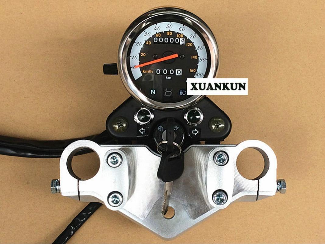Gn125 мотоцикл мотоцикл Ретро Дооснащения один одометра комплект идеальный модифицированного инструмента Шторм