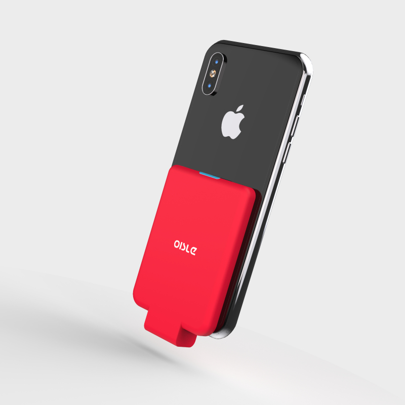 Mini Back clip <font><b>battery</b></font> For <font><b>iPhone</b></font> 11 X 7 8 <font><b>6</b></font> 6S Plus 5 5S SE XS MAX XR Slim Backup fast External <font><b>Battery</b></font> Charger <font><b>Case</b></font> Power <font><b>Bank</b></font> image