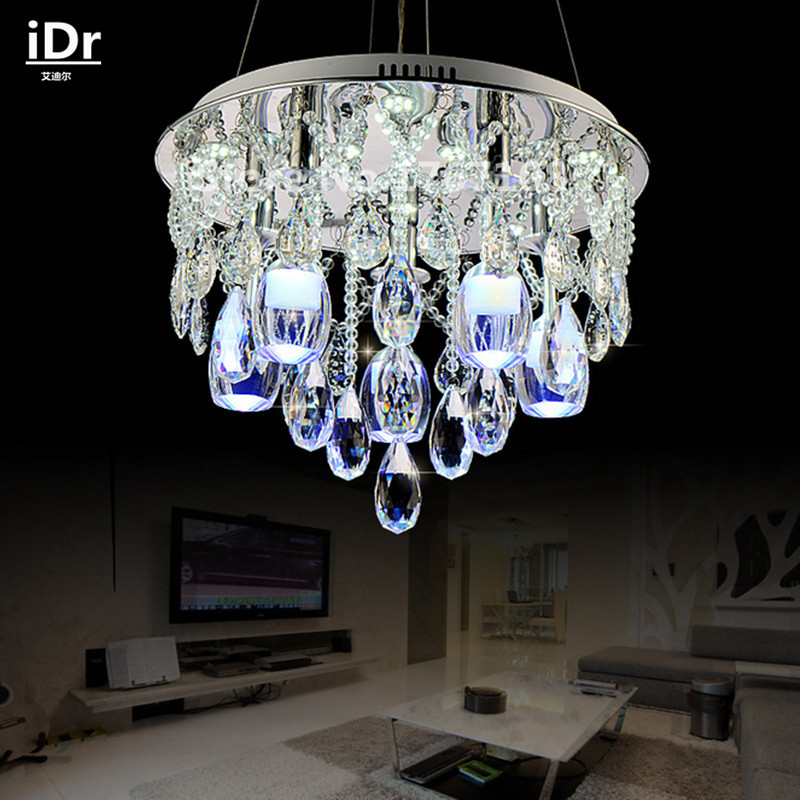 Contemporary The New Listing Led Modern Crystal Chandelier Bedroom Living Room Dining Upscale Atmosphere China