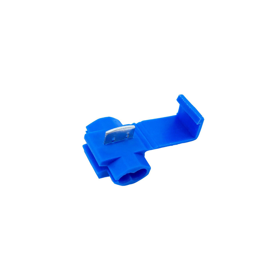 Scotch Lock Quick Splice Connectors Terminals Blue 50PCS Or 100PCS Wire Electrical Cable Crimp For 18-14 AWG 10pcs 5awg or 4 awg or 2awg or 1 0awg tinned copper cable lugs ring terminals various awg sizes welding battery