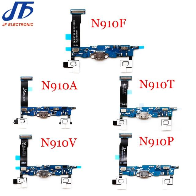 10pcs עבור Samsung galaxy הערה 4 N910F N910A N910T N910V N910P N910W8 USB מטען מחבר טעינת מזח נמל plug להגמיש כבל