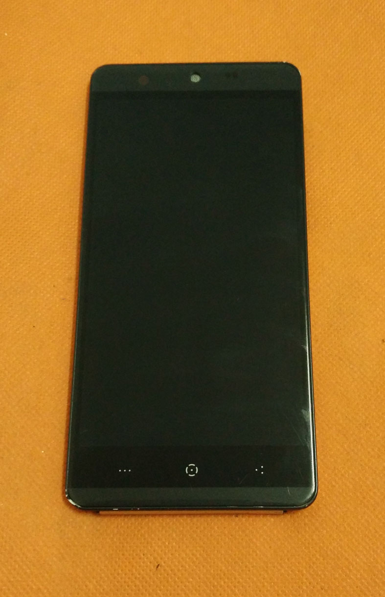 Alten Original LCD Display + Touch Screen + Rahmen für Kingzone N5 HD 5