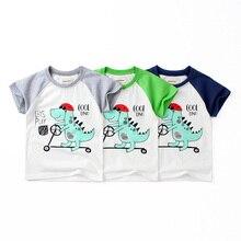 2019 children fashiona new boy short-sleeved summer cotton girl cartoon O-Neckr short sleeve clothes baby girls T shirt
