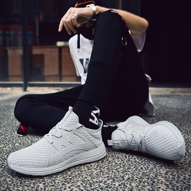 Breathable Tide Lace Up Men's Shoes 5
