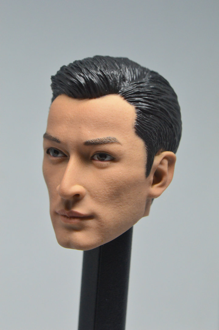 1//6 Scale Male Head Hugo shooting Sculpt Model Toys  Action Figure F 12/'/' Body