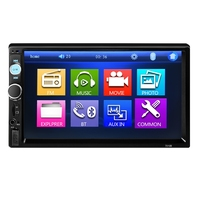 New 7010B 7 inch Bluetooth V2.0 Car Audio Stereo Touch Screen MP4 MP5 Player Support SD USB FM Radio