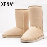 FREE SHIPPING 2013 HOT 8 Color Fahion 25cm Height Winter Women Snow Boots For Lady