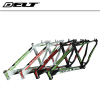 Mountain MTB bicycle frame 26 * 17 inch bike aluminum frame For Disc brakes black red white green