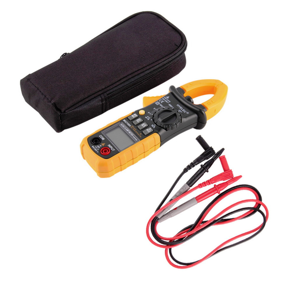 1pc Digital AC DC Clamp Meter Ground Unit Megohmmeter Resistance Earth Tester Multimeter HYELEC Multimetro 4000