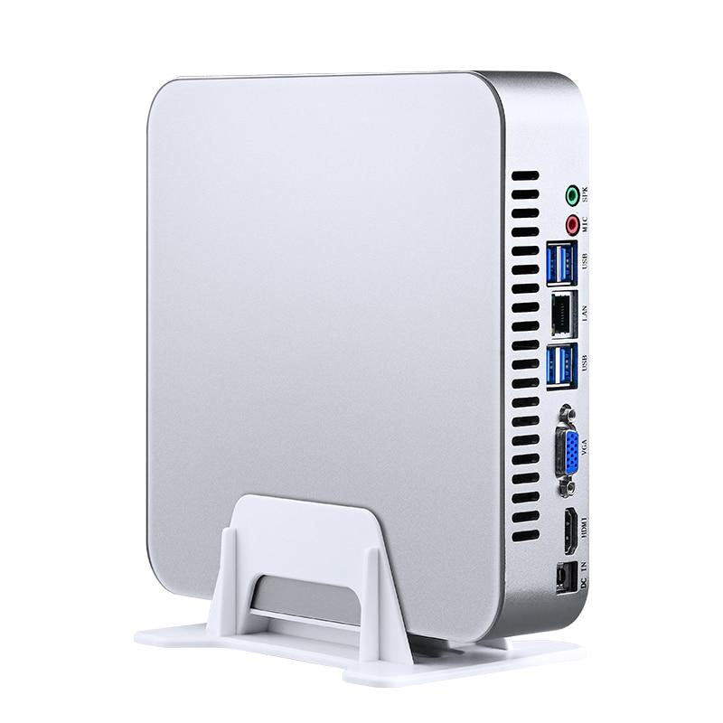 Image 5 - MSECORE i7 8700 NVME SSD DDR4 Gaming Mini PC Windows 10 Desktop Computer game pc linux intel barebone HTPC UHD630 HDMI VGA WiFi-in Mini PC from Computer & Office