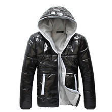 New 2016 Winter Jacket Men Fashion Hooded Collar Solid Outdoors Casual Windproof Waterproof Warm Parka Men Down Jacket